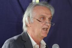Dr. Michael Jung (1. Vorsitzender) - Eröffnung Schatzkiste - Kinderschutzbund Wiesloch