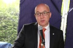 Bürgermeister Ludwig Sauer - Eröffnung Schatzkiste - Kinderschutzbund Wiesloch