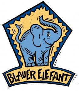 Logo Blauer Elefant